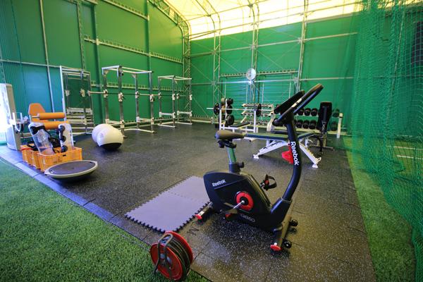 筋力トレーニングスペース